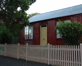 19th Century Portable Iron Houses - Kingaroy Accommodation