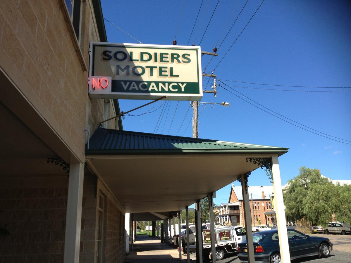 Soldiers Motel - Kingaroy Accommodation